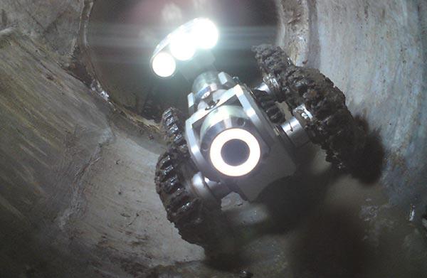 Inspekcja kanałów sanitarnych kamerą tv